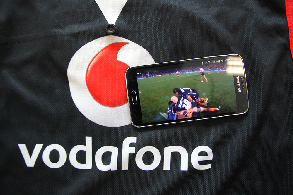 Vodafone JerseyCam by Kurt Strong